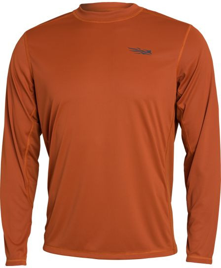 SITKA Redline Performance Shirt Langarm in Canyon Gesamtansicht