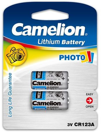 CAMELION CR123A Batterie