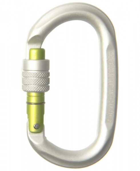 EDELRID Oval Power 2400 Screw silver