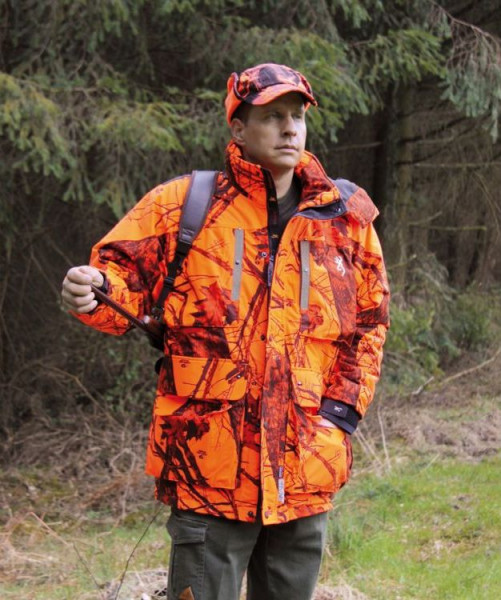 BROWNING XPO PRO Parka Blaze Orange Camo