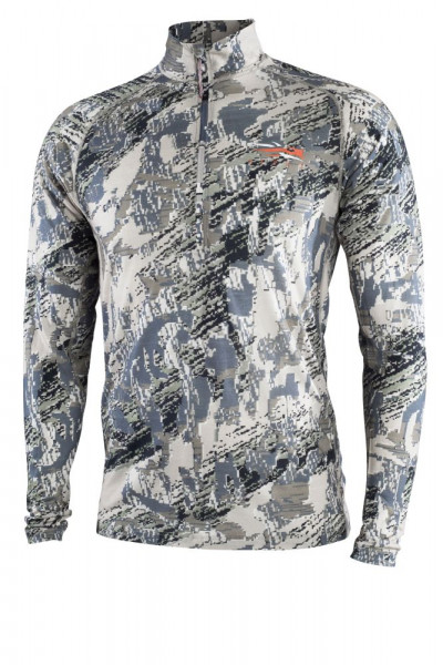 SITKA Merino Core Lightweight Half-Zip in Open Country