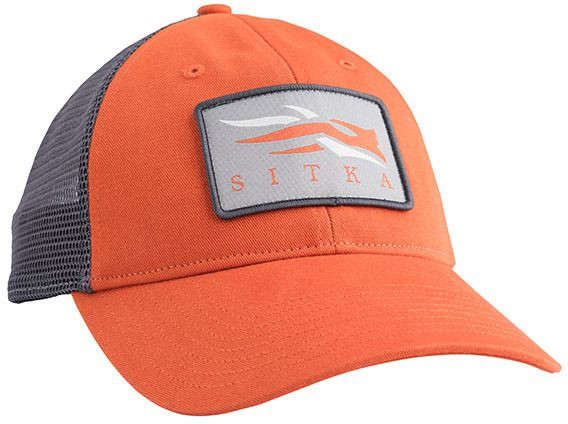 SITKA Meshback Trucker Cap in Burnt Orange