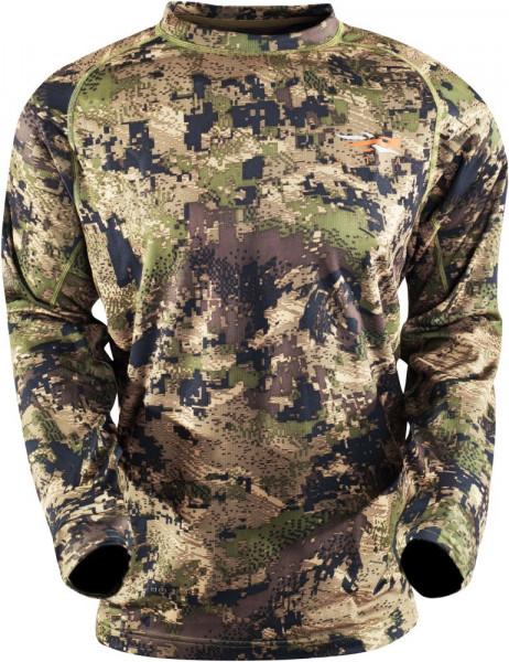 SITKA Core Lightweight Langarmshirt in Ground Forest
