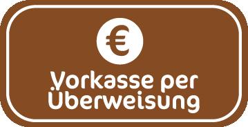Zahlungsart Vorkasse