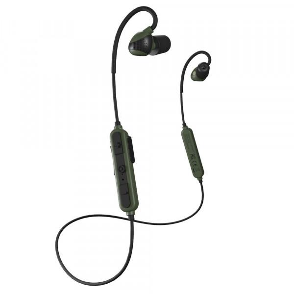 ISOTUNES Sport Advance Gehörschutz In-Ear Gesamtansicht in schwarz/grün